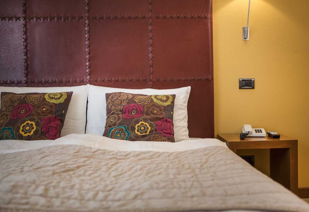 Hotel Meridiana rooms - garden rooms with access from the corridor to the garden