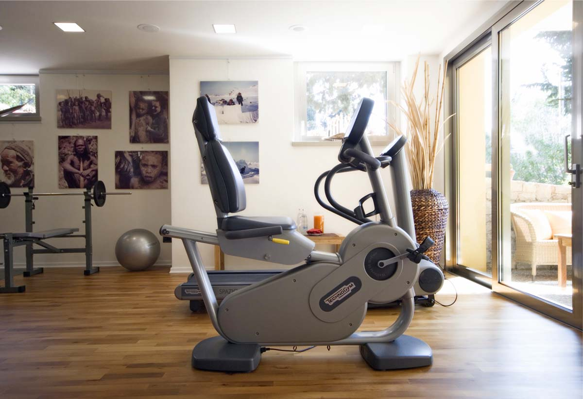 Hotel Meridiana fitness area with Tecnogim equipment